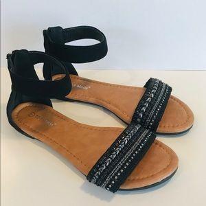 🤩Top Moda Cecelia Suede Sandal - EUC Size 7